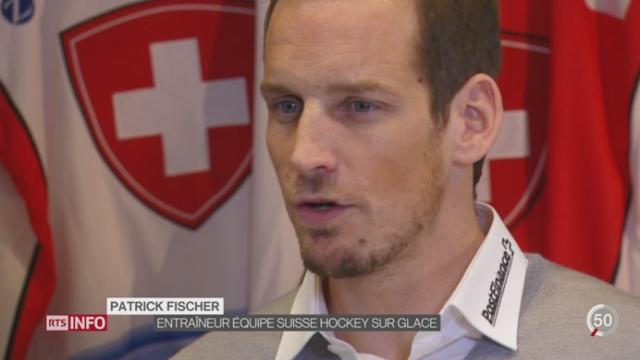 Mondiaux de hockey: l'équipe de Suisse débute la compétition avec un coach inexpérimenté [RTS]