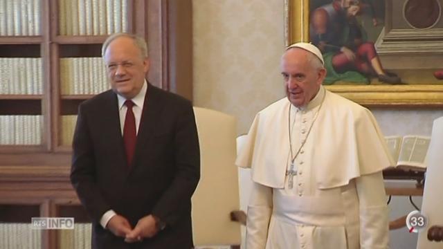 Video rencontre deux papes