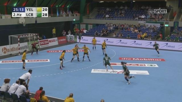 Finale dames, Yellow Winterthur - LC Brühl (21-28): victoire du LC Brühl [RTS]