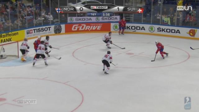 Hockey - Mondial: la Suisse s'est inclinée face à la Norvège (4-3). [RTS]
