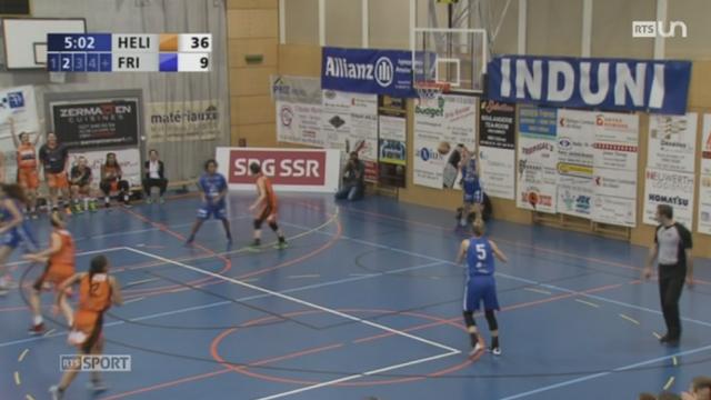 Basket - Championnat Suisse féminin: les Valaisannes d'Helios remporte leur 5e titre [RTS]