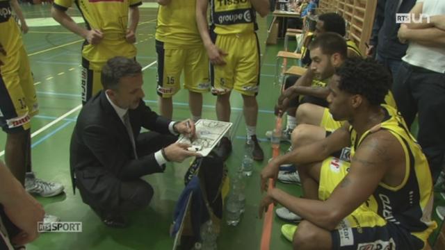 Basket - Championnat Suisse masculin: Union Neuchâtel bat les Lions de Genève en demi-finale [RTS]