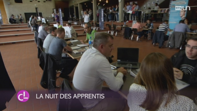 NE: la 5e nuit de l'apprentissage se déroule à Neuchâtel [RTS]