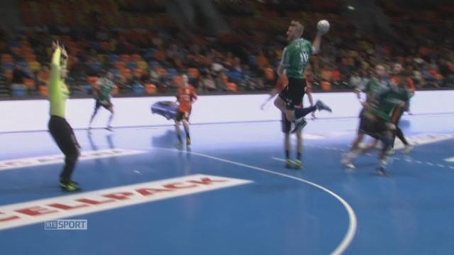 Finale - match 1: Schaffouse - Thoune (31-25): Schaffouse remporte ce premier match au la main. [RTS]