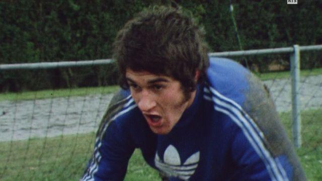 Eric Burgener en 1974. [RTS]