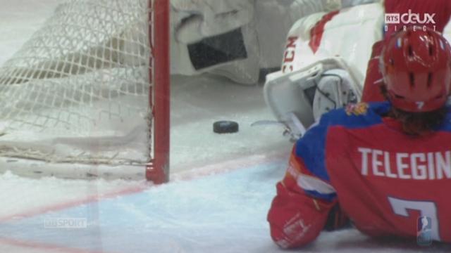 Russie – Suisse (1-0): la Russie prend l'avantage après 5 minutes de jeu [RTS]