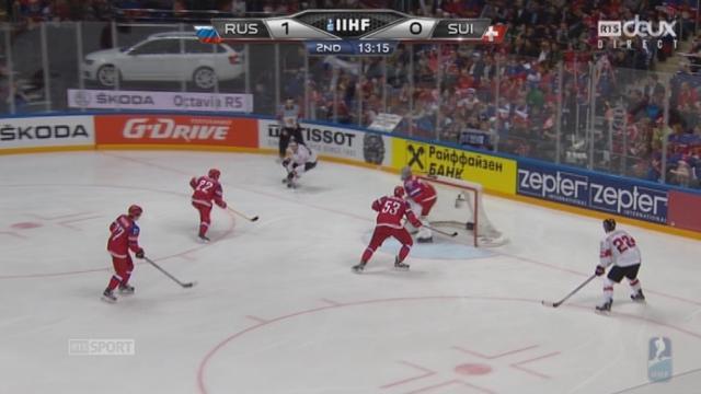 Russie – Suisse (1-0): grosse occasion pour la Suisse qui manque l'égalisation [RTS]