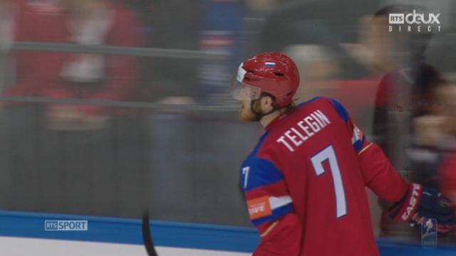 Russie - Suisse (3-0): la Russie creuse l'écart [RTS]