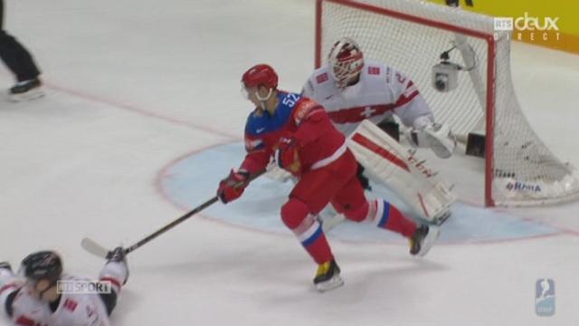 Russie – Suisse (4-0) : la Suisse plonge et les Russes enfoncent le clou [RTS]
