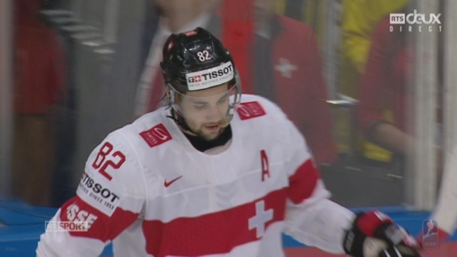 Russie - Suisse (4-1): Moser offre le but de l'honneur à la Suisse [RTS]