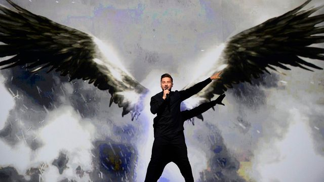 Sergueï Lazarev est le finaliste russe de l'édition 2016 de l'Eurovision. [Maja Suslin - EPA/Keystone]