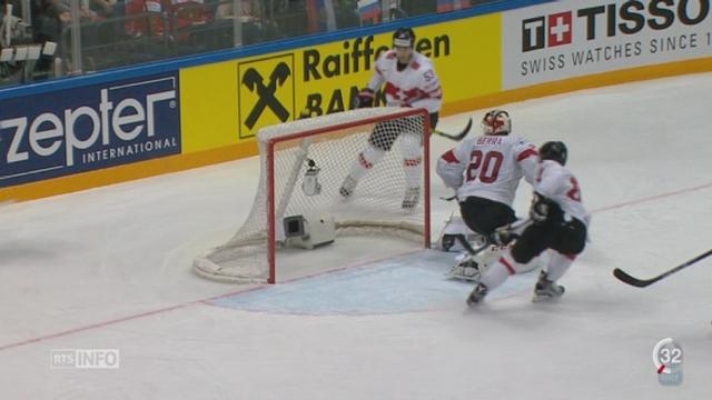 Hockey - Championnat du Monde: la Suisse n'a pas su faire face à la Russie [RTS]