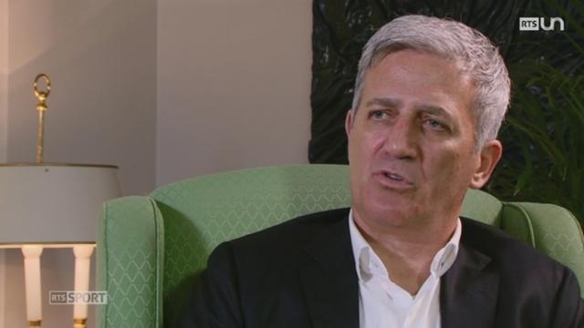 Football: entretien avec Vladimir Petkovic, entraîneur de l'équipe de Suisse 1-2 [RTS]
