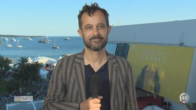 """Projection du film """"Ma vie de Courgette"""" à la Quinzaine des Réalisateurs: le réalisateur Claude Barras nous livre ses impressions, à Cannes [RTS]"""