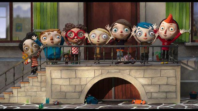 """Une scène du film d'animation """"Ma vie de Courgette"""". [ritaproductions.com]"""
