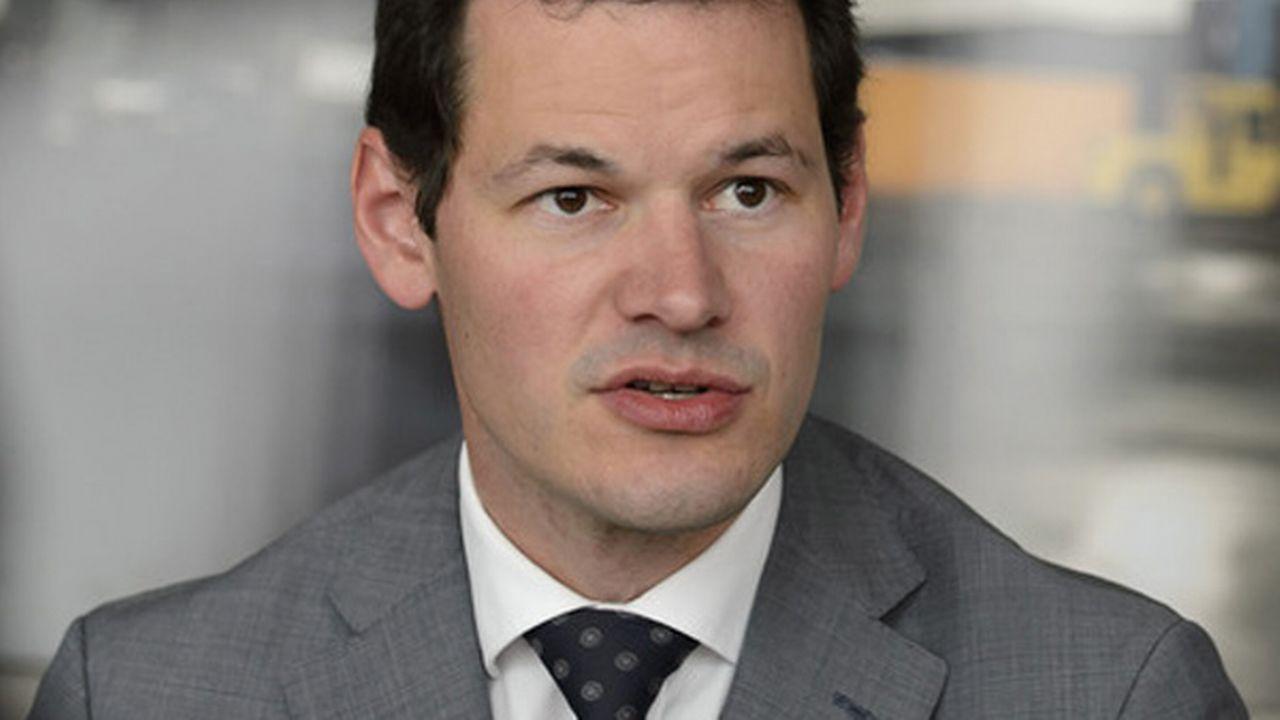 Pierre Maudet, conseiller d'Etat GE (en faveur de la loi) [Martial Trezzini - Keystone]