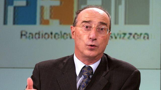 Remigio Ratti, professeur d'économie régionale et des transports à l'Université de Fribourg. [Karl Mathis - Keystone]