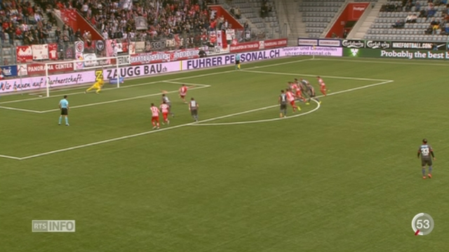Football: le FC Sion fait match nul contre Thoune (1-1) [RTS]