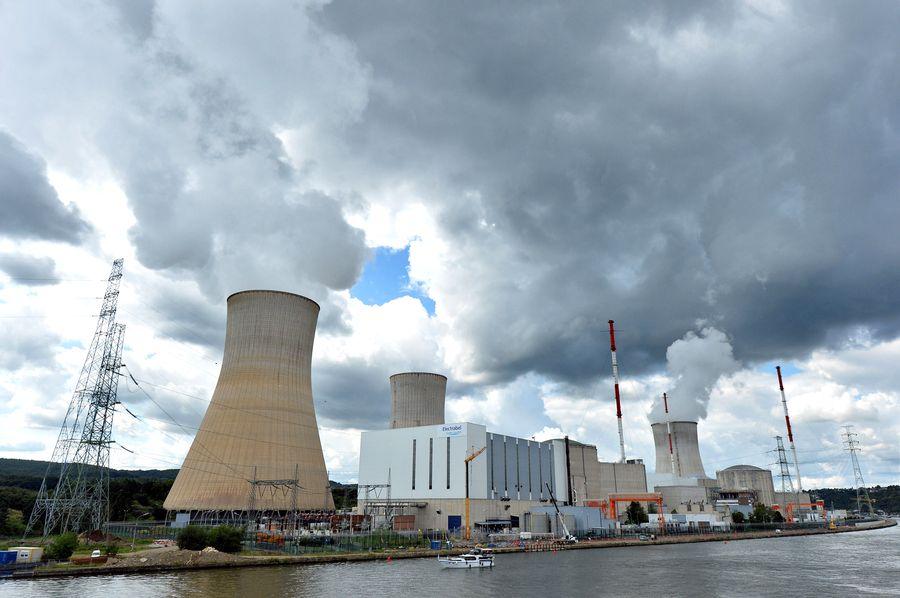 La centrale nucléaire belge de Tihange.