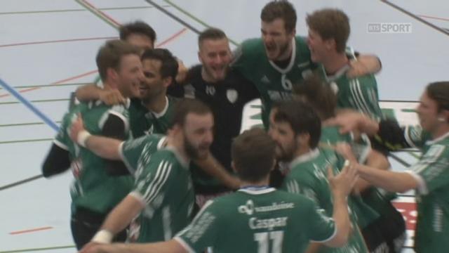 Finale, match 2, Thoune - Schaffhouse (24-23): Thoune s'impose à domicile et revient à 1 partout dans la série! [RTS]