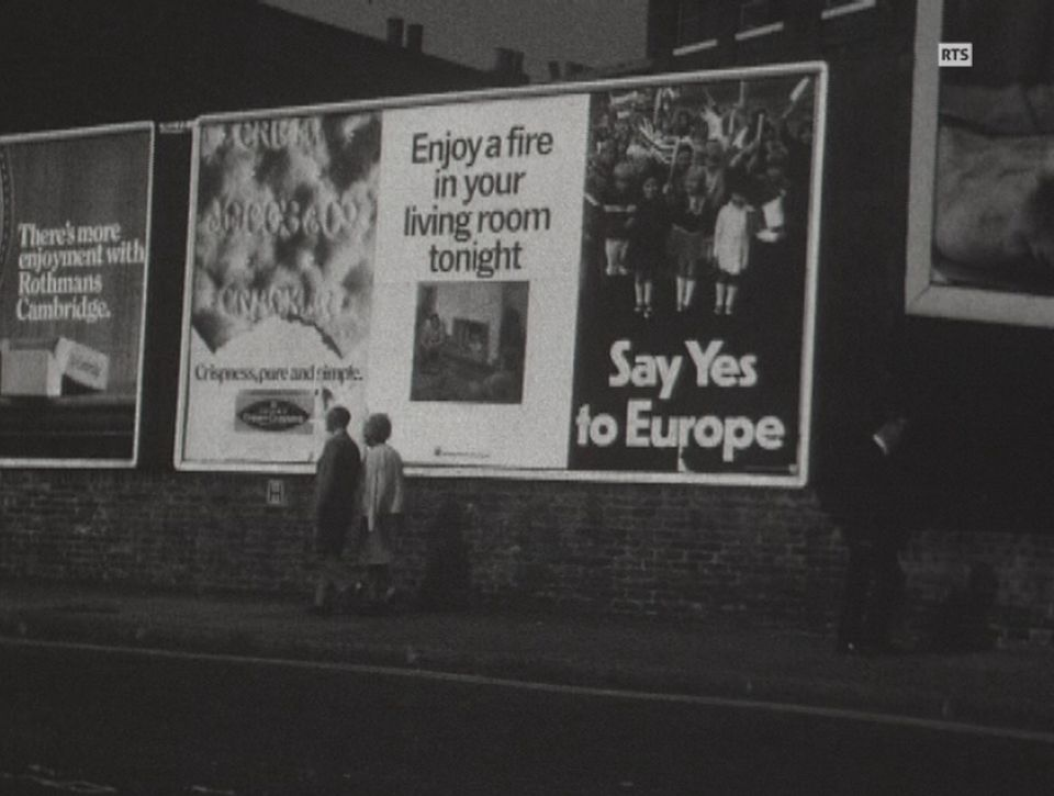 L'Angleterre et le Marché commun [RTS]
