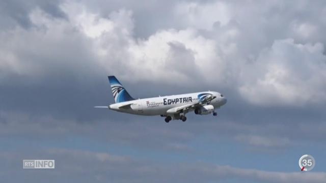 Des débris de l'avion d'EgyptAir ont été retrouvés [RTS]