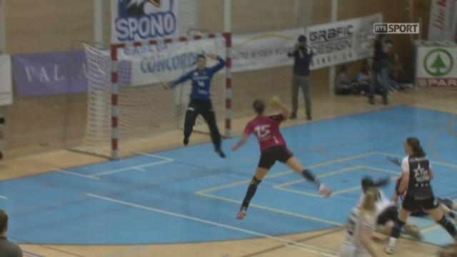 Finale dames, match 2, Nottwil – Brühl (26-21) : Nottwil s'impose à domicile contre le LC Brühl et mène désormais 2-0 dans la série [RTS]