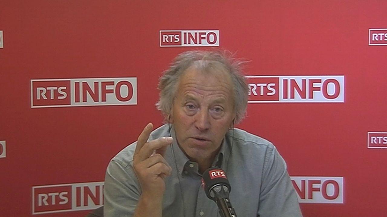 L'invité de la rédaction - Fernand Cuche [RTS]