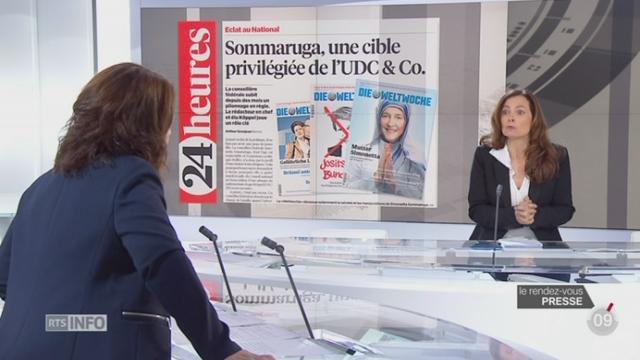 Le rendez-vous de la presse: le sexisme est présent dans la politique suisse [RTS]