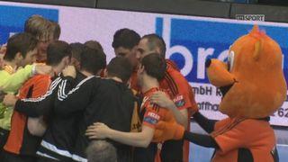 Finale messieurs, match 3, Schaffhouse - Thoune (32-21) : Schaffhouse gagne et mène désormais 2-1 dans la série [RTS]