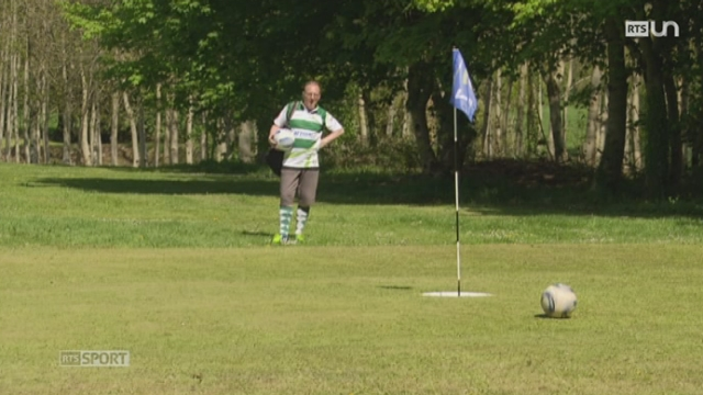 Le Mag: le footgolf se développe de plus en plus [RTS]