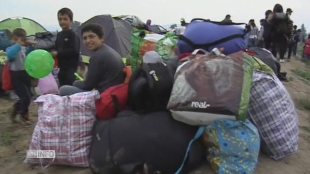 Les images de l'évacuation du camp de réfugiés et de migrants à Idomeni [RTS]