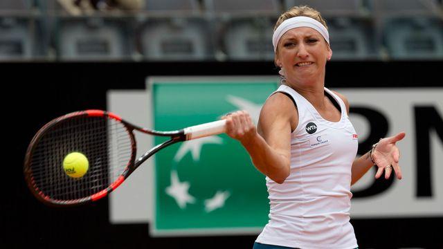 Timea Bacsinszky sera opposée à une qualifiée au 1er tour de Roland-Garros. [Alessandra Tarantino - Keystone]
