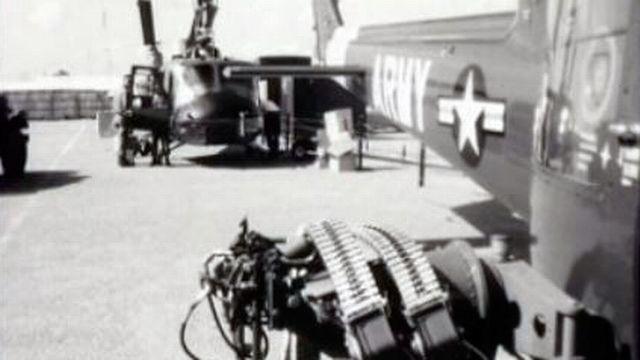 Les forces américaines au Vietnam en 1964. [RTS]