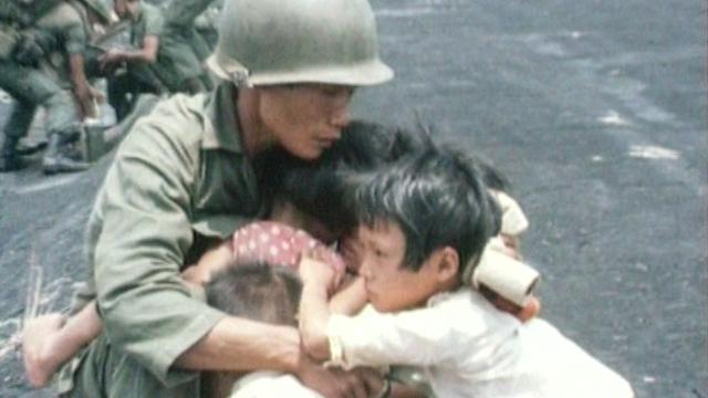Durant la guerre du Vietnam. [RTS]