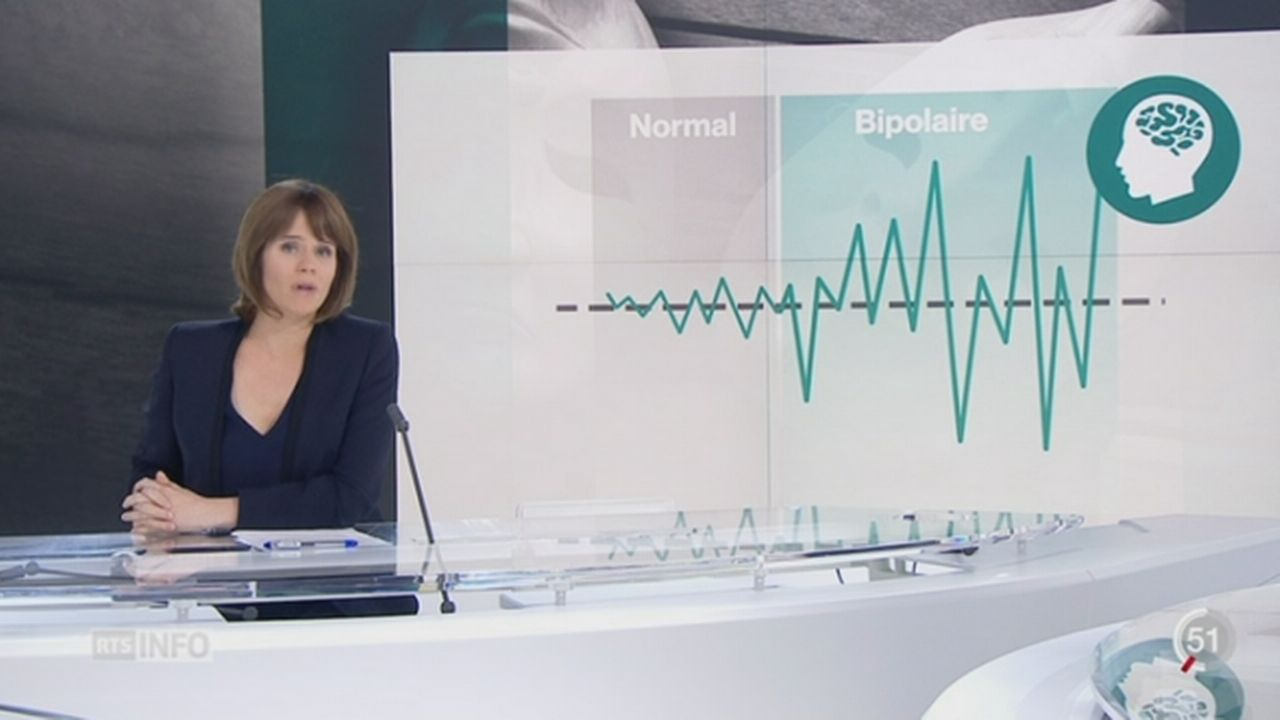 Les troubles bipolaires restent encore largement méconnus du grand public [RTS]