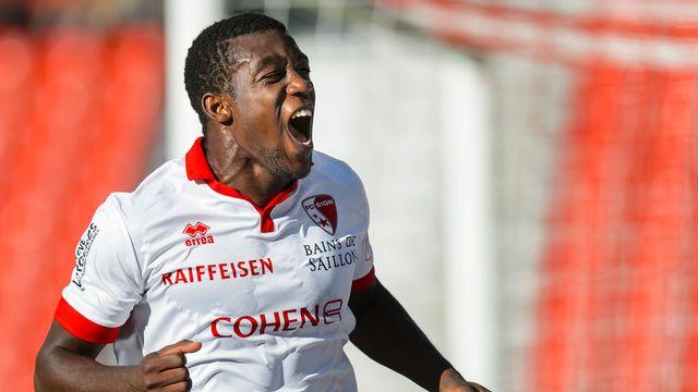 Bia et le FC Sion ont terminé leur saison le 25 mai avec une cinquième place à la clé. [Jean-Christophe Bott - Keystone]