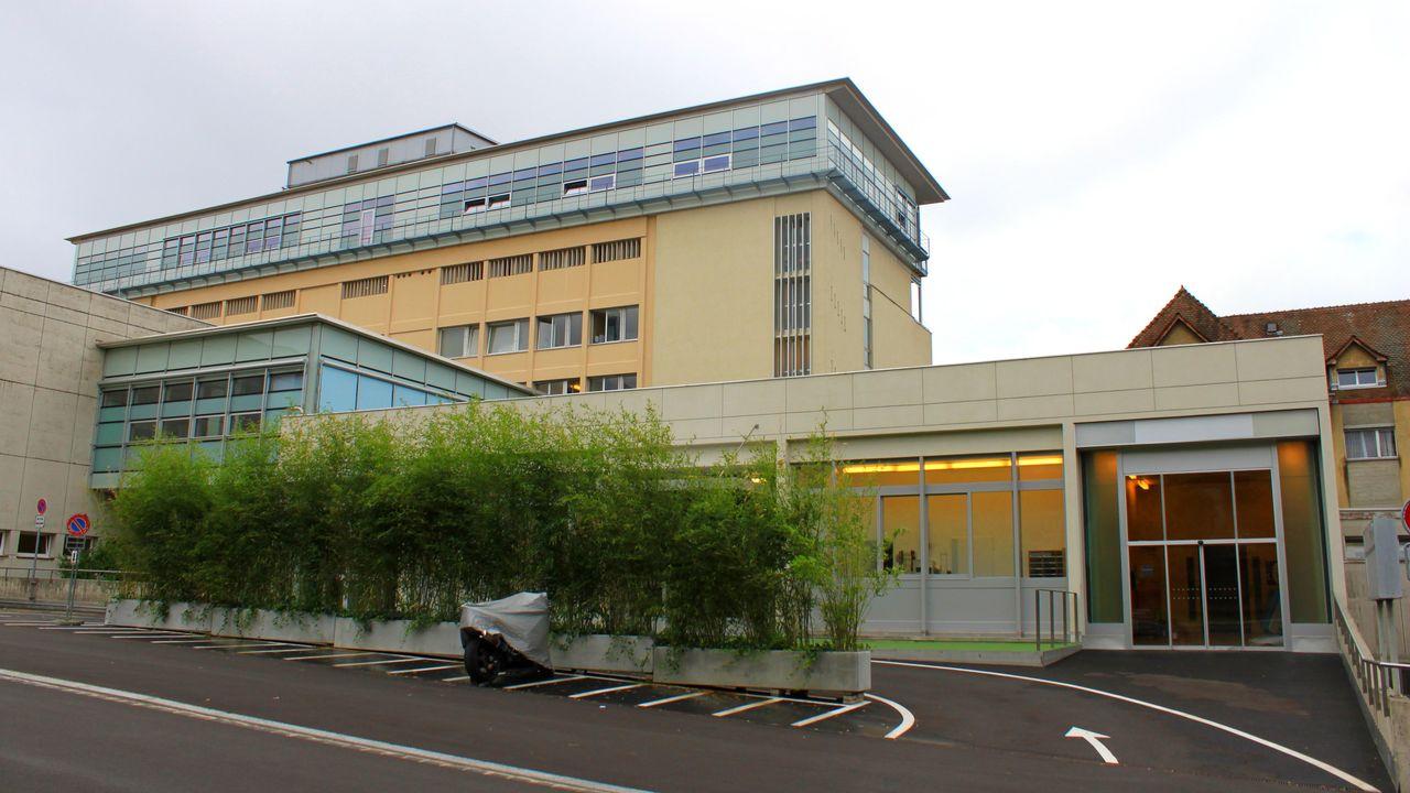 Le bâtiment de la Maternité du CHUV. [Odrade123 - Wikicommons]