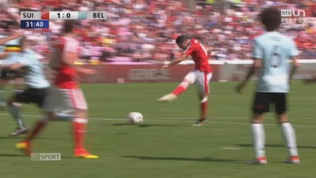 Suisse - Belgique (1-0): ouverture du score par Dzemaili à la 31e minute ! [RTS]