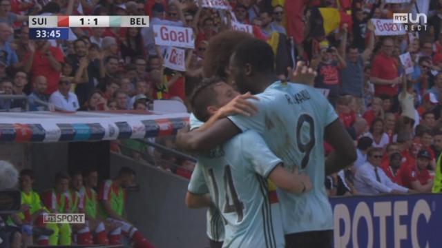 Suisse - Belgique (1-1): la Belgique égalise sur une erreur de Senderos [RTS]