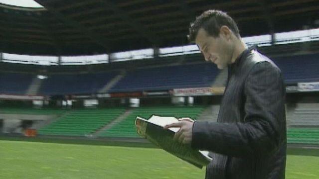 Alexander Frei en 2004. [RTS]