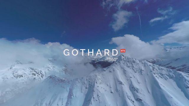 Le Gothard à 360° [RTS]