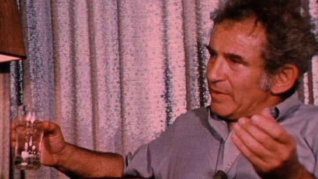 L'écrivain américain Norman Mailer, 1974. [RTS]