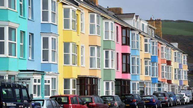 Aberystwyth. [Paul Ellis - AFP]