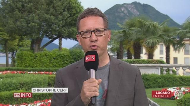 Euro 2016 - Équipe suisse: les précisions de Christophe Cerf à Lugano [RTS]