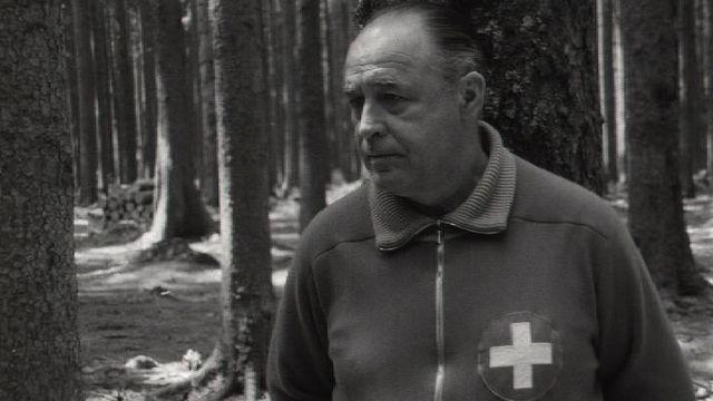 Karl Rappan en 1967. [RTS]