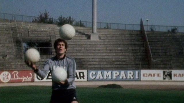 Eric Burgener en 1980. [RTS]