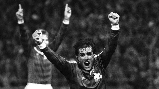 Umberto Barberis en 1984. [Keystone]