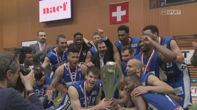 Finale, match 6, Union Neuchâtel – Fribourg Olympic (63-80): Fribourg Olympic s'impose et remporte les finales de playoff! [RTS]