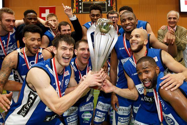 Fribourg Olympic attendait un nouveau titre de champion depuis 2008. [Salvatore Di Nolfi - Keystone]
